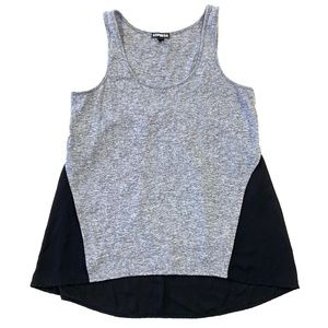Express Black and Gray Tank
